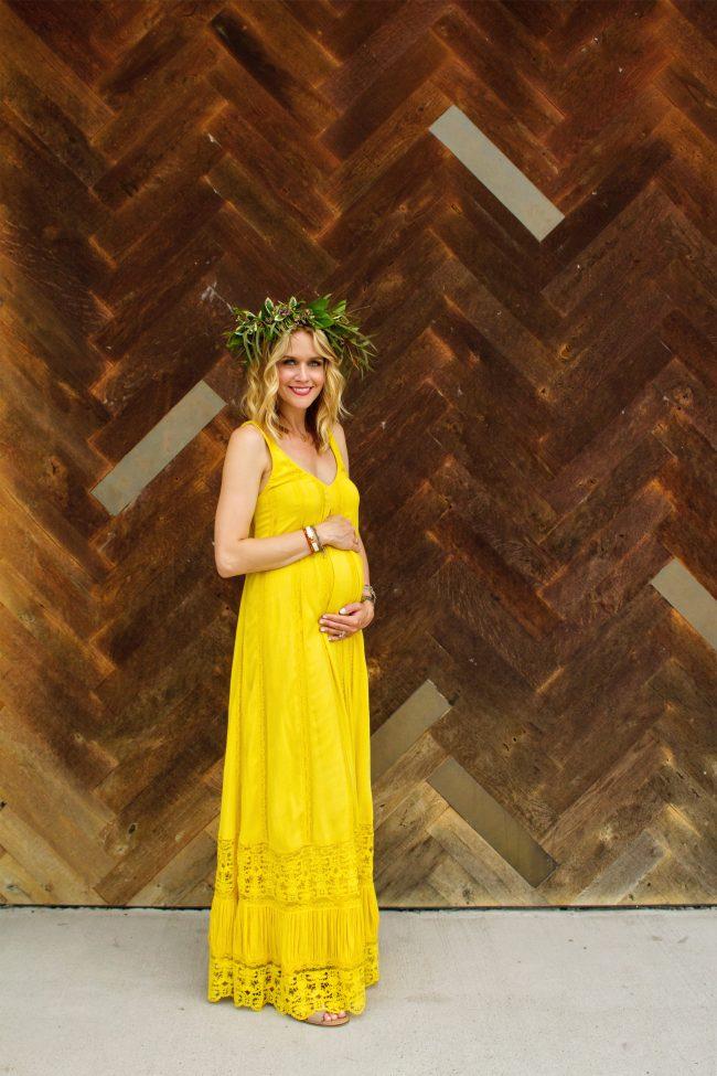 Alice and Olivia Lyndsey Yellow Dress - 1
