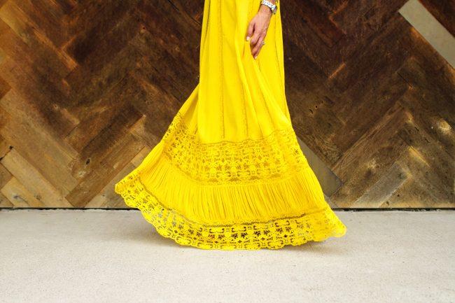 Lyndsey Yellow Dress - 10