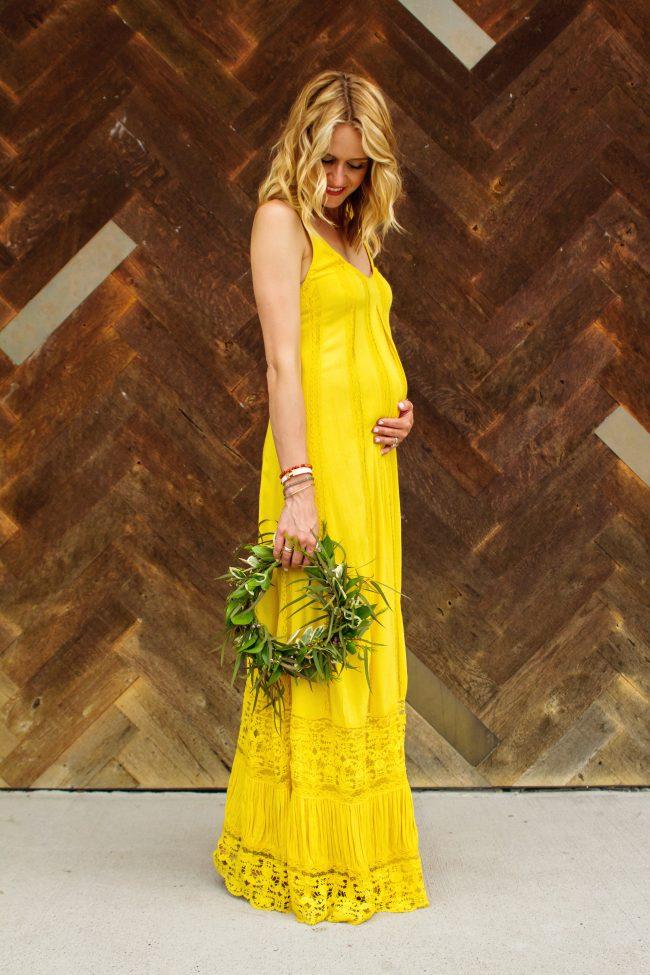 Maxi Dress Lyndsey Yellow Dress - 11