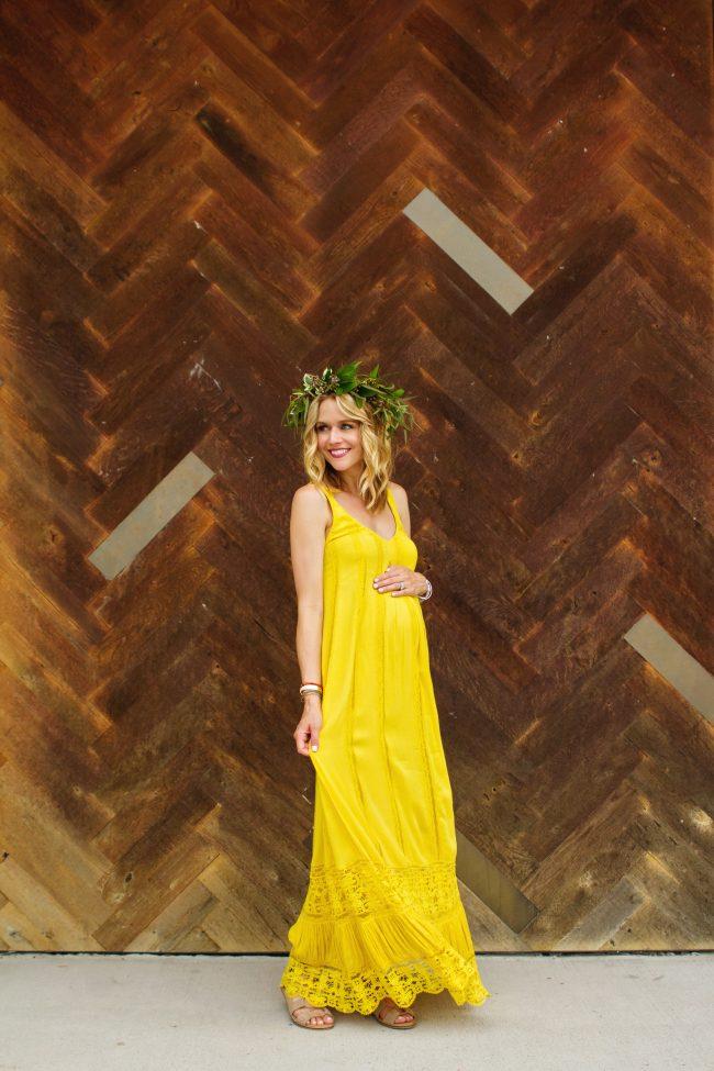 Maxi Dress Lyndsey Yellow Dress - 3