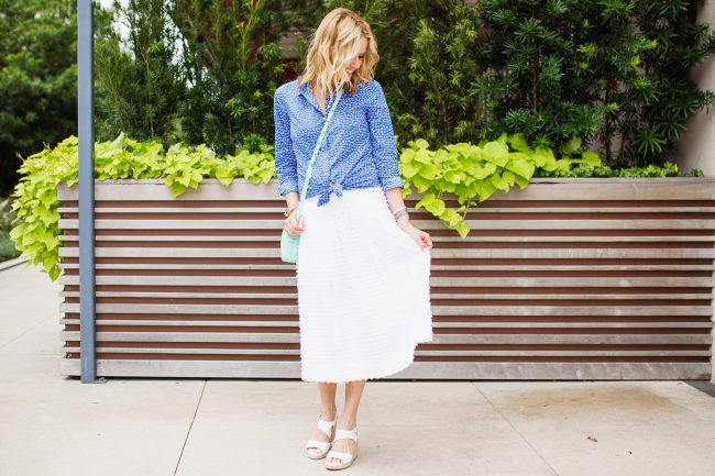 View More Midi Skirt: http://traciling.pass.us/lyndseyblog2