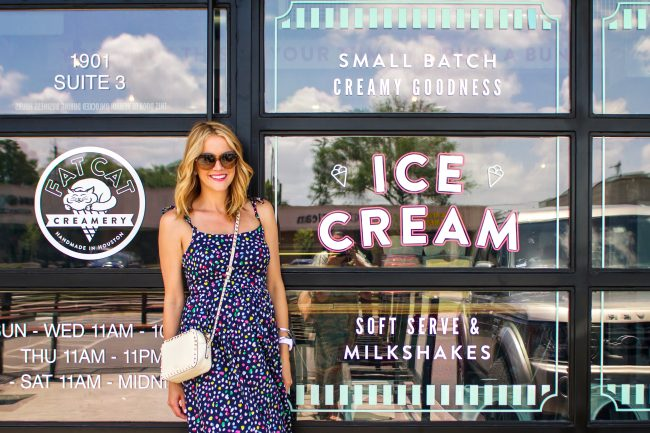 J. Crew Dress Fat Cat Creamery - 1