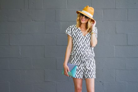Grey Wall Romper - 13