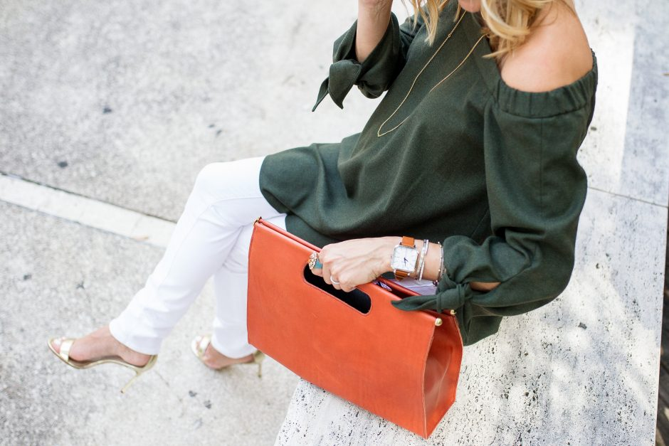 View More Off shoulder top: http://traciling.pass.us/lyndseyblog2