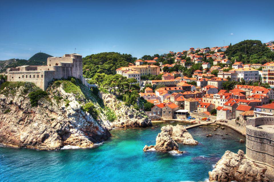 the coast of Croatia c/o Town & Country mag